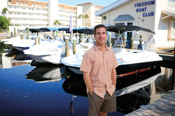 John Giglio, President and CEO Freedom Boat Club
